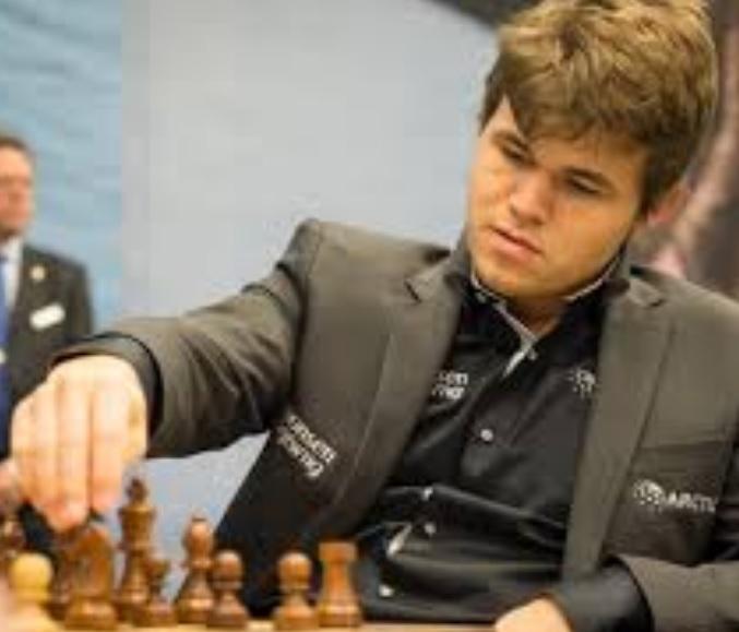 Magnus Carlsen, world chess champion