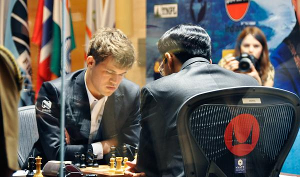 Your Chance to Play Carlsen!