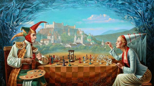 Chess Art by Cheval
