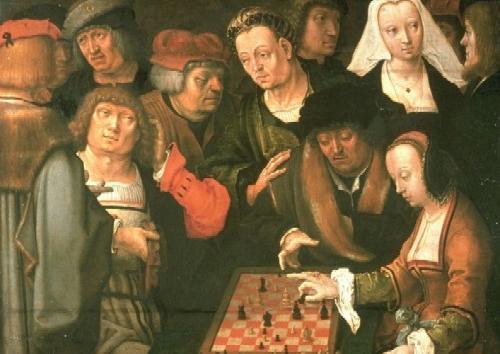 Lucas van Leyden  Partita a scacchi 1510