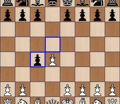 Chess opening : Queens Gambit accepted