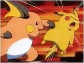 Raichu vs. Pikachu