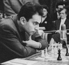Beauty in chess. One game of Mikhail Tal.