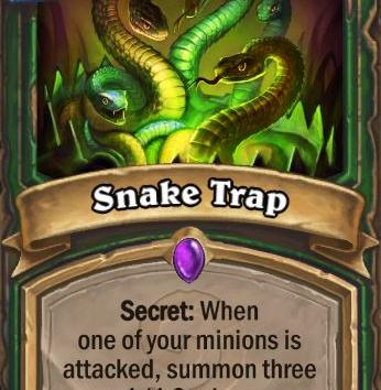 Hearthstone: Release the Snakes!