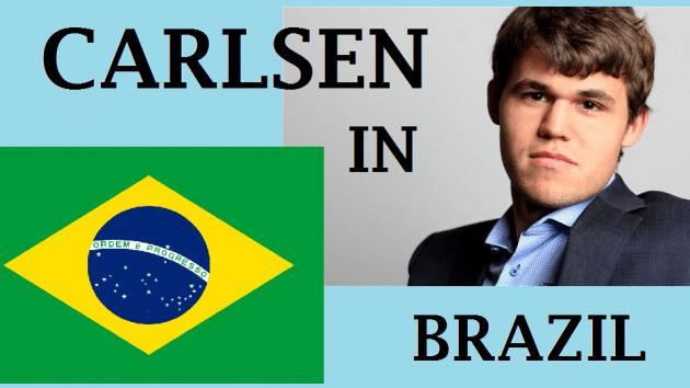 Magnus Carlsen in Brazil