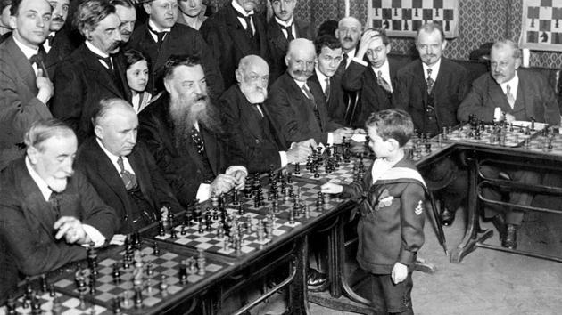 Young chess-players