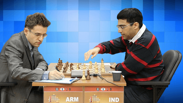 Anand vs Aronian - 2014 FIDE Candidates Chess Tournament