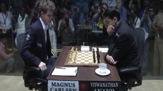 Carlsen Anand