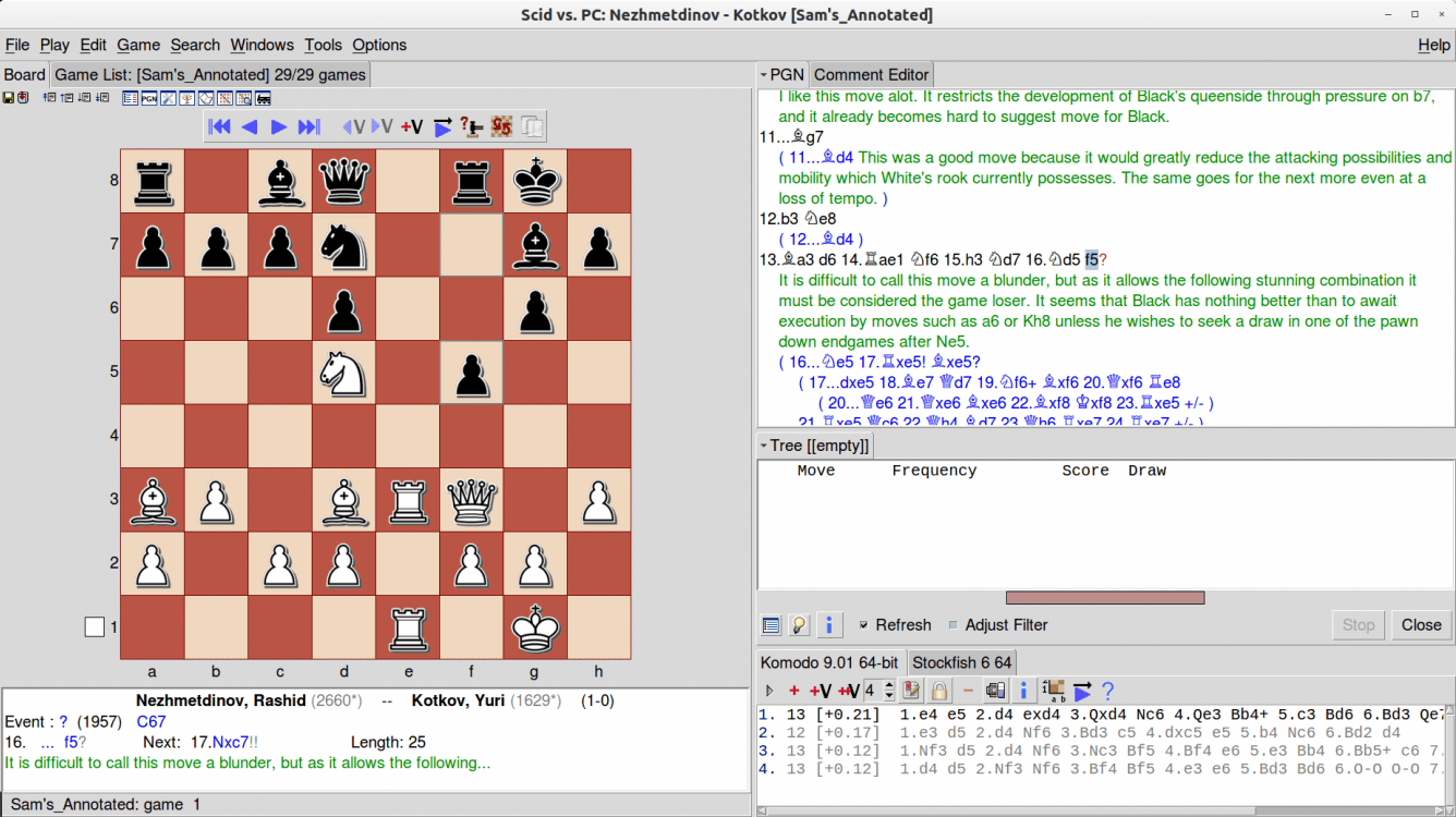Tutorials - SCID for the Chess Student