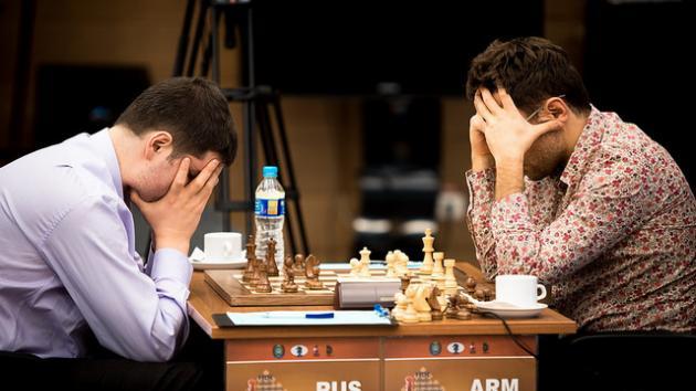 Aronian Svidler