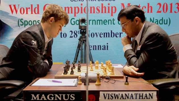 Anand - Carlsen World Championship Match (2013)