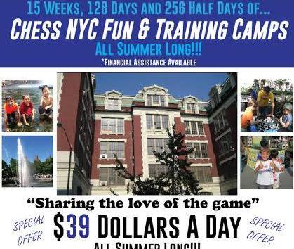$39 Summer Chess Camps!