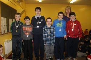CBS A Chess Team 2014
