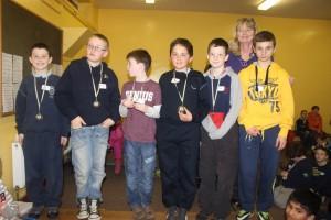 CBS B Chess Team 2014