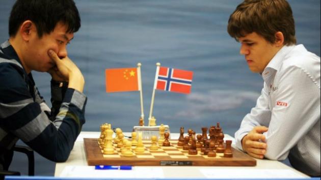 Carlsen Vs Wang Hao
