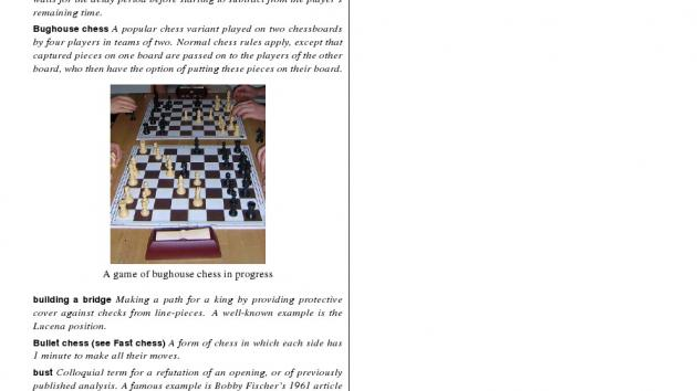 Glossary of Chess