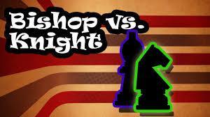 Bishop vs. Knight!