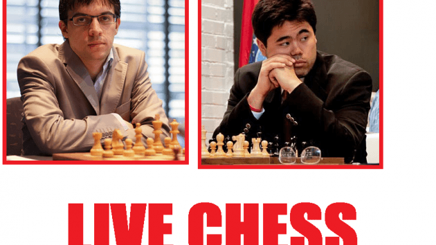 Nakamura and Vachier-Lagrave playing Live Chess