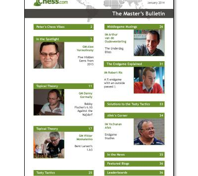 The Master's Bulletin: January-May 2014