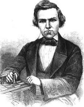 A game tribute to the great Paul Morphy