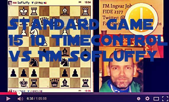 A standard 15 10 game FM vs NM