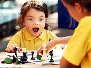 Inspiring Chess to Children