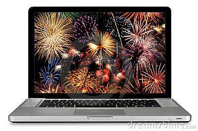 Computer Fireworks!