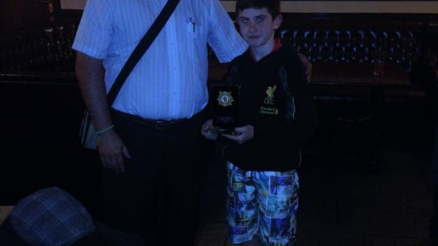 Evan BYRNE 2nd. in Gorey Chess Champ.!!
