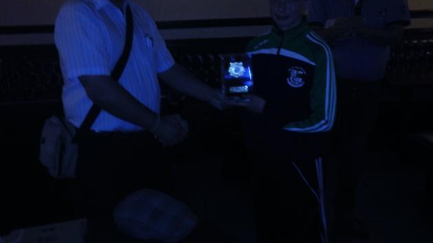 Micheál KENNEDY 2nd. in Gorey Chess Champ.!!
