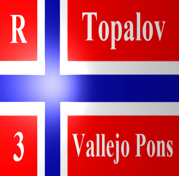 Veselin Topalov vs Francisco Vallejo Pons - 41st Chess Olympiad 2014 - Round 3