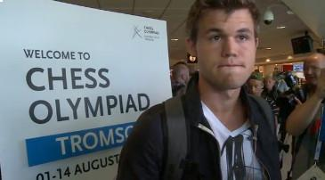 Carlsen´s games in Tromsø Chess Olympiad