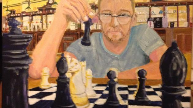 Portrait of a chess player...