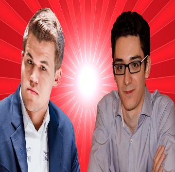 Magnus Carlsen vs Fabiano Caruana - 2nd Sinquefield Cup 2014