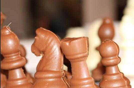 Chocolate Chess Pieces!