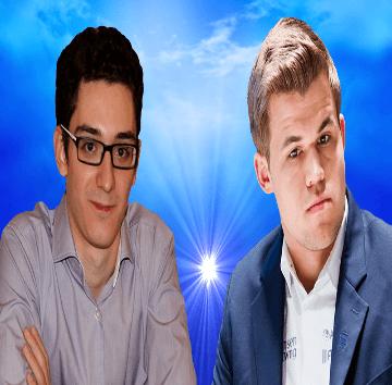Fabiano Caruana vs Magnus Carlsen - 2nd Sinquefield Cup 2014