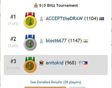 Bronze Medal!