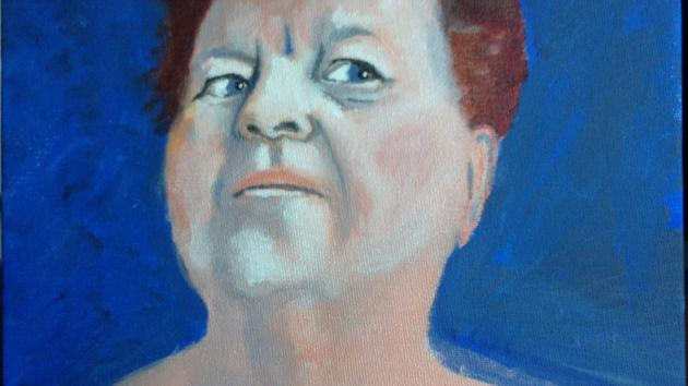 Portrait of Christine...