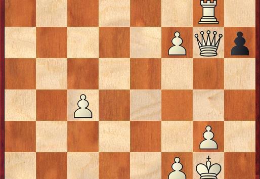 Crazy tactics with a queen down!