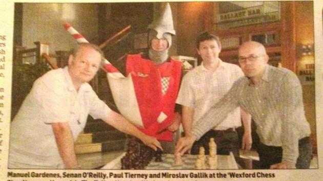 Wexford Chess exhibition...!?