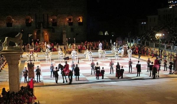 Human Chess Game at Marostica
