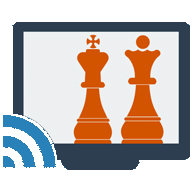 Chess on the big screen (TV)