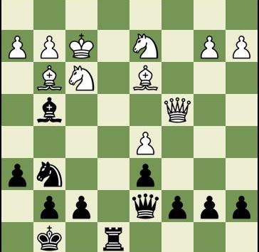 A Sharp Two Knights Defense with Black