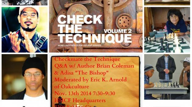 TONIGHT! HHCF Hosts Author Brian Coleman of Check The Technique Vol. 2 !!