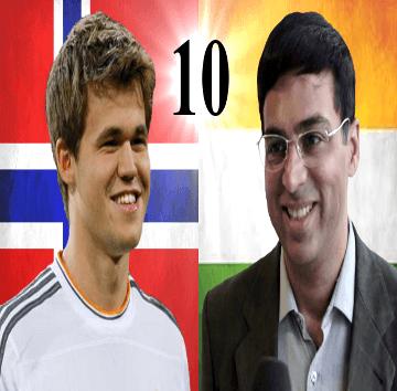 Game 10 - 2014 World Chess Championship - Viswanathan Anand vs Magnus Carlsen