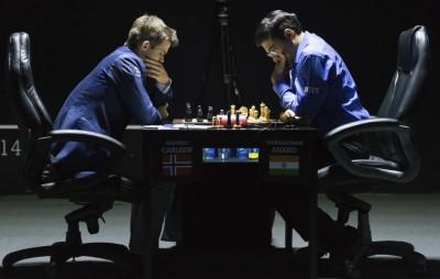 Carlsen - Anand World Championship Match (2014)