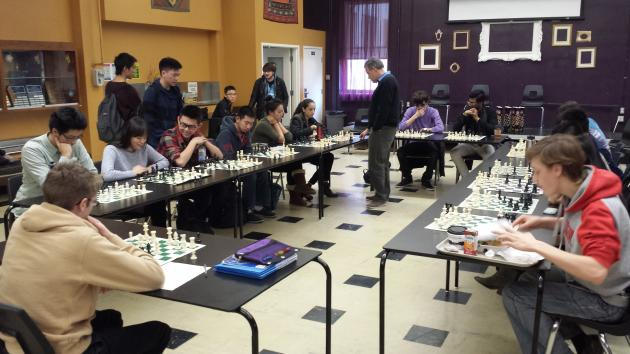 Chess at Marianopolis: Simul with IM Jean Hebert