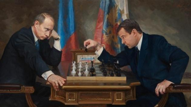 Putin, Medvedev and Chess