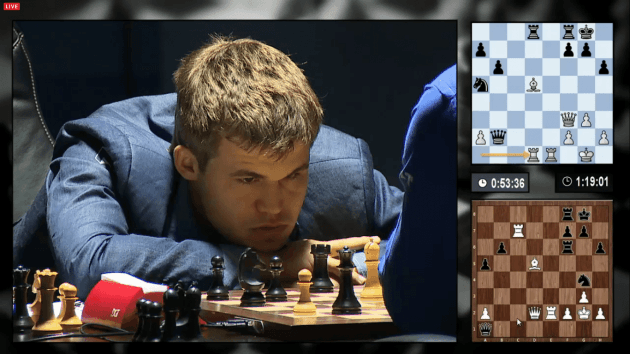 Carlsen retains World Chess Championship in Socho