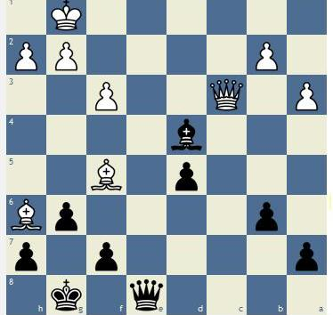 CHESS MATCH: CLOSE ENCOUNTER