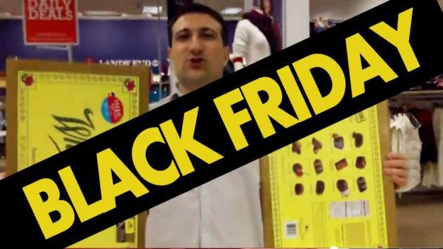 Video: Black Friday Shopping Spree 2014